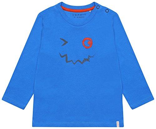 ESPRIT Baby-Jungen Langarmshirt RL1001212, Blau (Blue 440), 92