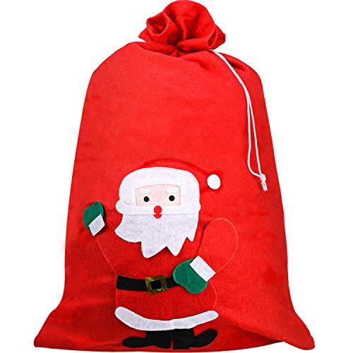 Saco Papá Noel Navidad Bolsa San Nicolás Saco Regalo