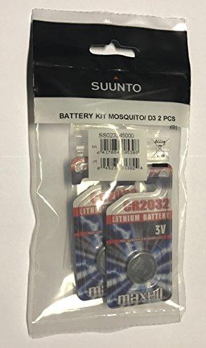 Suunto taux pour remplacement de batterie Mosquito et D3Ordinateur de plongée-Lot de 2