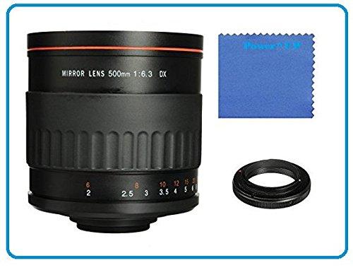 Vivitar 500 mm 1:6,3 Objektiv manueller Fokus Spiegelobjektiv für Sony Alpha a7 II, ILCE-7M2, a7R, ILCE-7R, a7S, ILCE-7S, a6000, a5000, a5000L, a5100, A3000, NEX, NEX-3, NEXF3, NEX3NL, NEX3NY, NEX-5, NEX5NDB, NEX5NYB, NEX5NKB, 5T, NEX5TL, NEX5TY, NEX5RL, NEX6, NEX-7, NEX7KB SLR-Systemkamera (E Objektivbajonett)