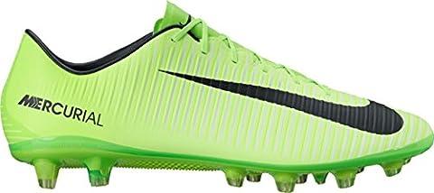 Nike Mercurial Veloce Iii Ag-Pro, Chaussures de Football Homme, Vert (Electric Green/Black/Flash Lime/White), 45 EU