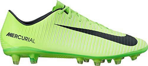 Nike Mercurial Veloce Iii Ag-Pro, Chaussures de Football Homme Vert (Electric Green/black/flash Lime/white)