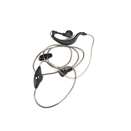 F-blue XQF G-Form Headset Big PTT Mic für Motorola Funk TLKR T3 T4 T5 T6 T7 Cobra MT200 T6000 XTL446 SX500 Walkie Talkie -