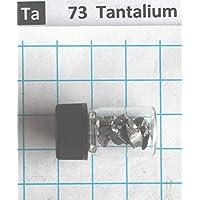 3 Gram 99,95% Tantalio Sólido Nugets de Metal en Vial Element 73 muestra - Envío gratis