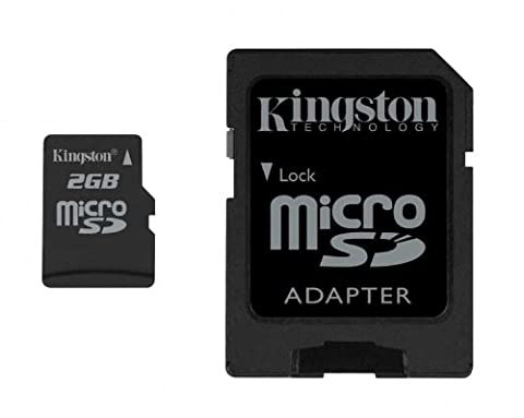 Kingston Technology 2GB Micro Secure Digital Card with adapter