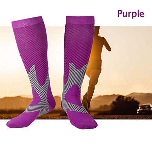 Tmdfight outdoor sports calze a compressione calze da corsa alpinismo equitazione calze calze protezione al volo calf socks,3,m