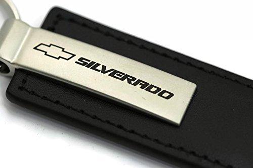 chevy-chevrolet-silverado-leder-schlusselanhanger-schlusselanhanger-schwarz