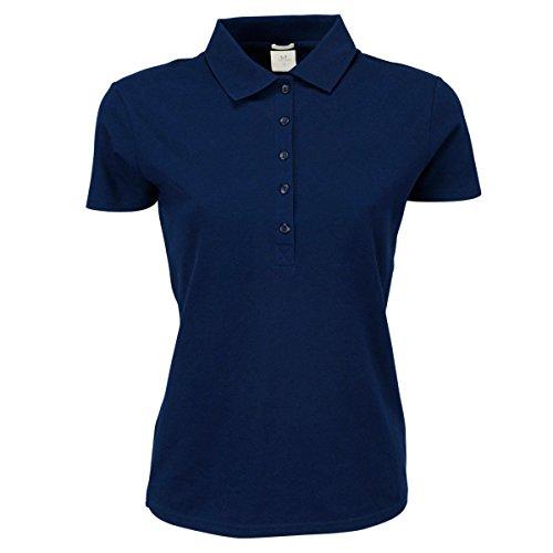 Tee Jays - Polo stretch à manches courtes - Femme Bleu Marine