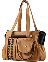 DAMDAM Women's Leather Mango Handbag (DD-01)