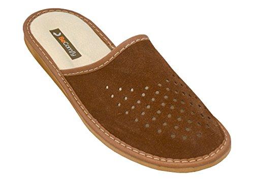 BeComfy-Zapatillas-de-Cuero-Para-Hombres-Piel-Genuina-Ligero-Cmodo-Elegante-Model-XC07