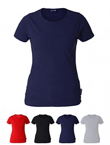 OCO Extreme Pro Damen Tailliertes T-Shirt 100{5cb2e24cad145546ebc2646f6f290b1ada929c074e7effdd3942efd2d5337cc2} Baumwolle (Dunkelblau, 2XL)