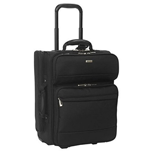 solo-laptop-pilot-case-rolling-nylon-telescopic-handle-holds-154-inch-h445-x-w350-x-d240mm-black-b63