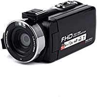 Feiledi Trade Caméscope Caméscope Full HD 1080p 24.0 MP Caméscopes numériques 16X Zoom numérique