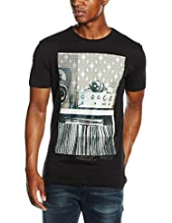 Antony Morato Girocollo Stampa 70 S Hi-Fi, T-Shirt Homme