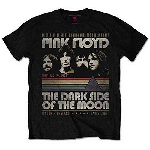 7221716c7d Pink Floyd - Rock Off Officially Licensed - T-Shirt Camiseta Vintage T Shirt  Vintage