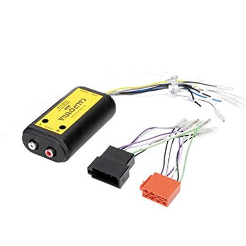 Schnittstelle Adapter Konverter Autoradio Lautsprecher auf Cinch mit Zahnseide Bestellung und Anschluss ISO hi-level-low-level