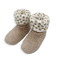 Women Soft Plush Warm Home Slippers Sewing Handmade Floor Flip Flop Women Coral Fleece Indoor Shoes