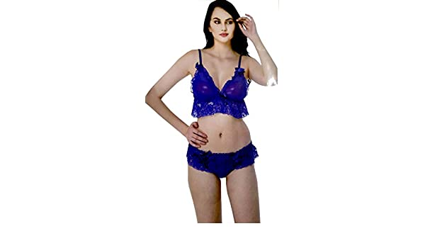 Fancy Bra Panty Set (Free Size 30 to 36) 69885d8c0