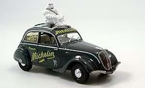Peugeot 202, Michelin, 1937, Modellauto, Fertigmodell, Norev 1:43