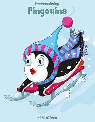 Livre de coloriage Pingouins 1 & 2 par Nick Snels