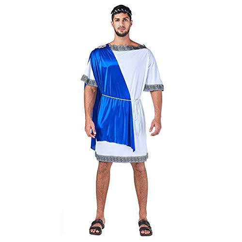 Mary home Fiestas Kostüm römischen Senator Griechischer Gott Kostüm Römisches Parlament Requisiten Anzug,RömischesMitglied03
