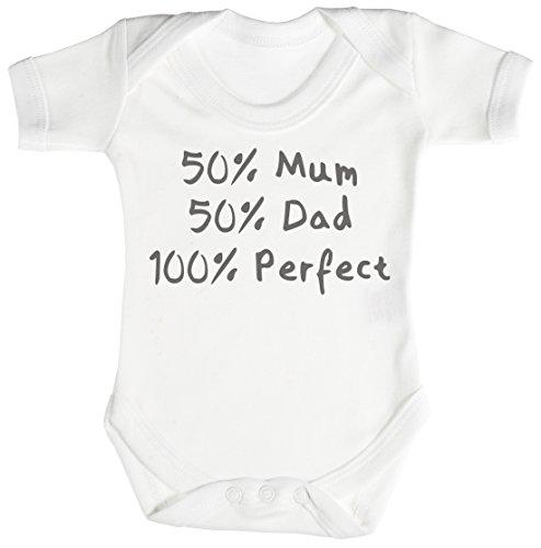 Personalizados bebé 50% 50% Design Camisillas para bebé - body para