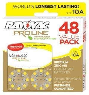 rayovac-mercury-free-proline-advanced-size-10-hearing-aid-batteries-total-of-48-batteries-by-rayovac