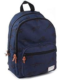 Preisvergleich für Skooter Backpack Animal Kingdom Blue Shark Kinder-Rucksack, 38 cm, Blau (Blue)