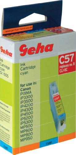Geha Tintenpatrone für Canon ersetzt Nr.CLI-8C cyan