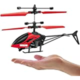 GoMerryKids IR Controlled Helicopter Flyer with Hand Sensor Control and USB Charger