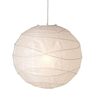 REFURBISHHOUSE lampada a sospensione, bianco, carta, 45 x 45 x 45 cm