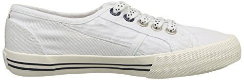 Pepe Jeans Baker Plain, Baskets Basses fille Blanc (800 White)