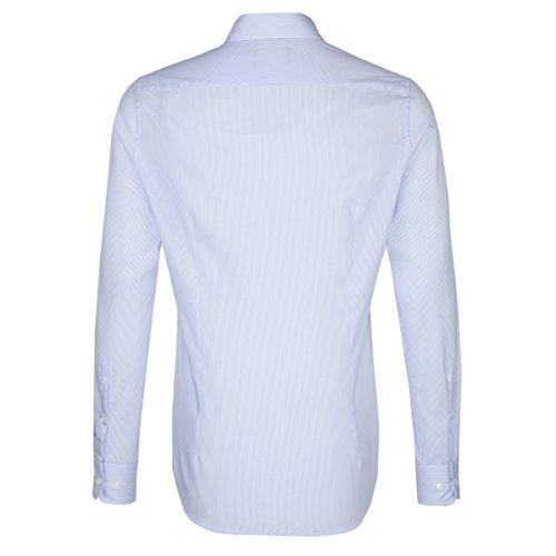 Michaelax-Fashion-Trade Camicia Classiche - Basic - Classico - Maniche Lunghe - Uomo Blau(13)