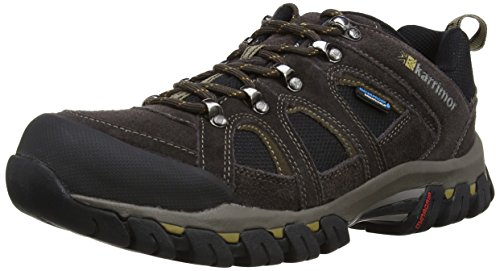 Karrimor - Scarpe da escursionismo, Uomo Marrone (Dark Brown)