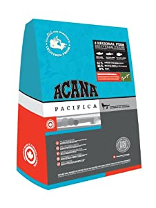 Acana Pacifica Cat Dry Mix 400 g (Pack of 3) by Champion Pet Foods