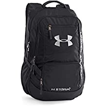 Under Armour UA HUSTLE BACKPACK II - Mochila, color Negro, talla Única