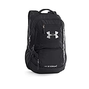 Under Armour Hustle Black Casual Backpack (1263964-001)  UNDER ... 92348ddd53dc9
