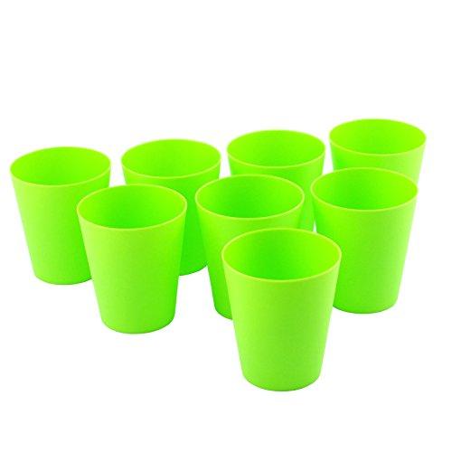 8pezzi piccolo bicchiere di plastica, un' alternativa