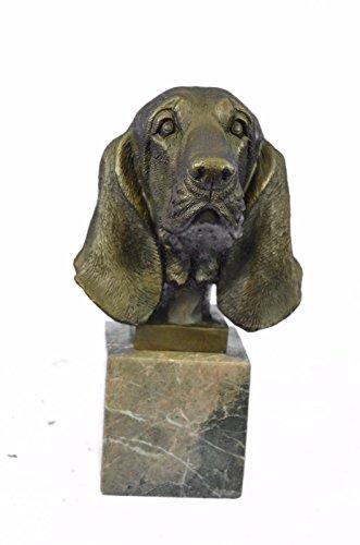 bronze-sculpture-statuelivraison-gratuitehush-puppy-basset-hound-scent-dog-breeder-marble-decorxn-24
