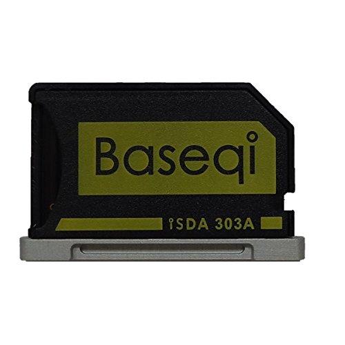 """Bosvision Adaptateur Micro SD en Aluminium avec bords argentés pour MacBook Pro Retina 13 """"/ MBPR *"""