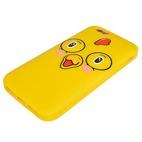 iPhone 6/ 6S Coque,COOLKE Mode 3D Style Cartoon Gel Soft silicone Coque Housse étui Case Cover Pour Apple iPhone 6/ 6S (4.7 inches) - 010 009