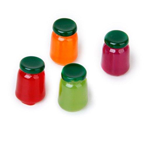 Mini Küche Obst Jam-Anzeigen-Spielzeug 01.12 Miniatur Obst Jam Modell Kids Fruit Jam Toy anzeigen ()