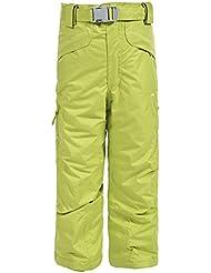 Trespass Marvelous–Pantalón de esquí, Unisex, color amarillo limón, tamaño 98