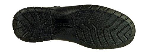 Cotswold Deerhurst da donna, alla caviglia, in pelle, impermeabili, colore marrone Black