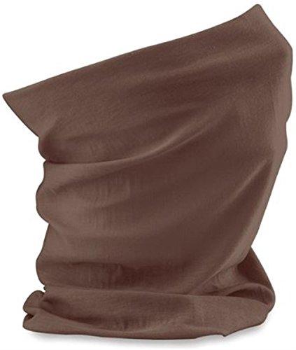 Morf écharpe tube ® original-idéal pour le fitness ou les loisirs - Marron