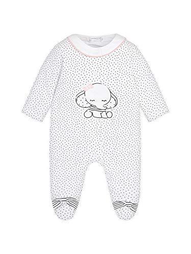 mayoral 29-01717-047 - Pyjama Long pour Bébé Fille 4-6 Mois Nero