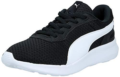 Puma Unisex-Kinder ST Activate AC PS Sneaker, Schwarz (Puma Black-Puma White 01), 33 EU