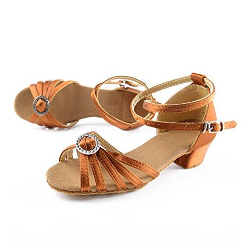 Calcanhar Marrons Sapatos De Senhoras 5 3 Miyoopark Dança Centímetros qtIHpwp8