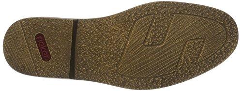 Rieker 13441, Bottes Classiques Homme, Taille 40 Noir (Schwarz/Braun / 01)