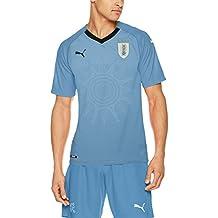 Puma Camiseta de la Selección de Uruguay, Hombre, Azul, ...